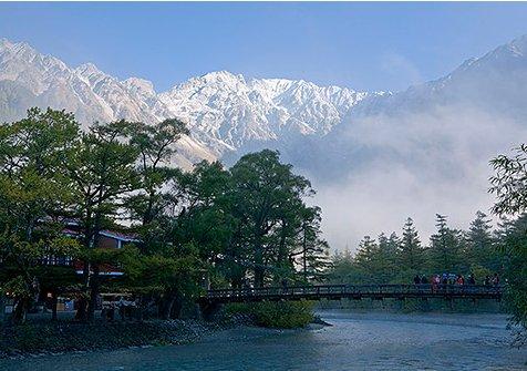 Kamikouchi of north Japan Alps