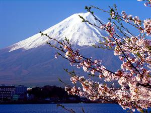 Mt. Fuji represents Japan