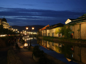 Otaru is beautiful port town